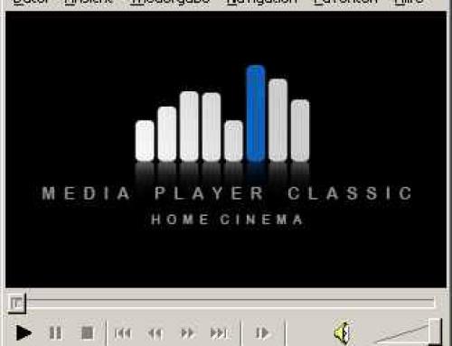 Media Player Classic – Home Cinema – Die schlanke Medienzentrale