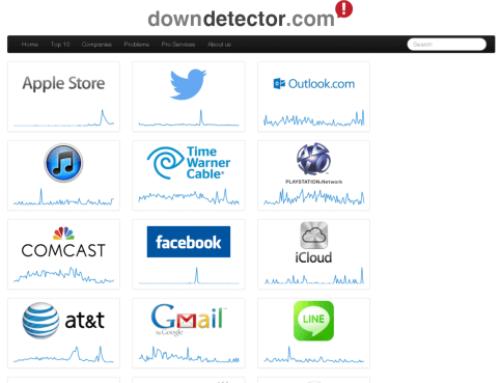 Downdetector.com – Der Störungsdienst fürs Internet