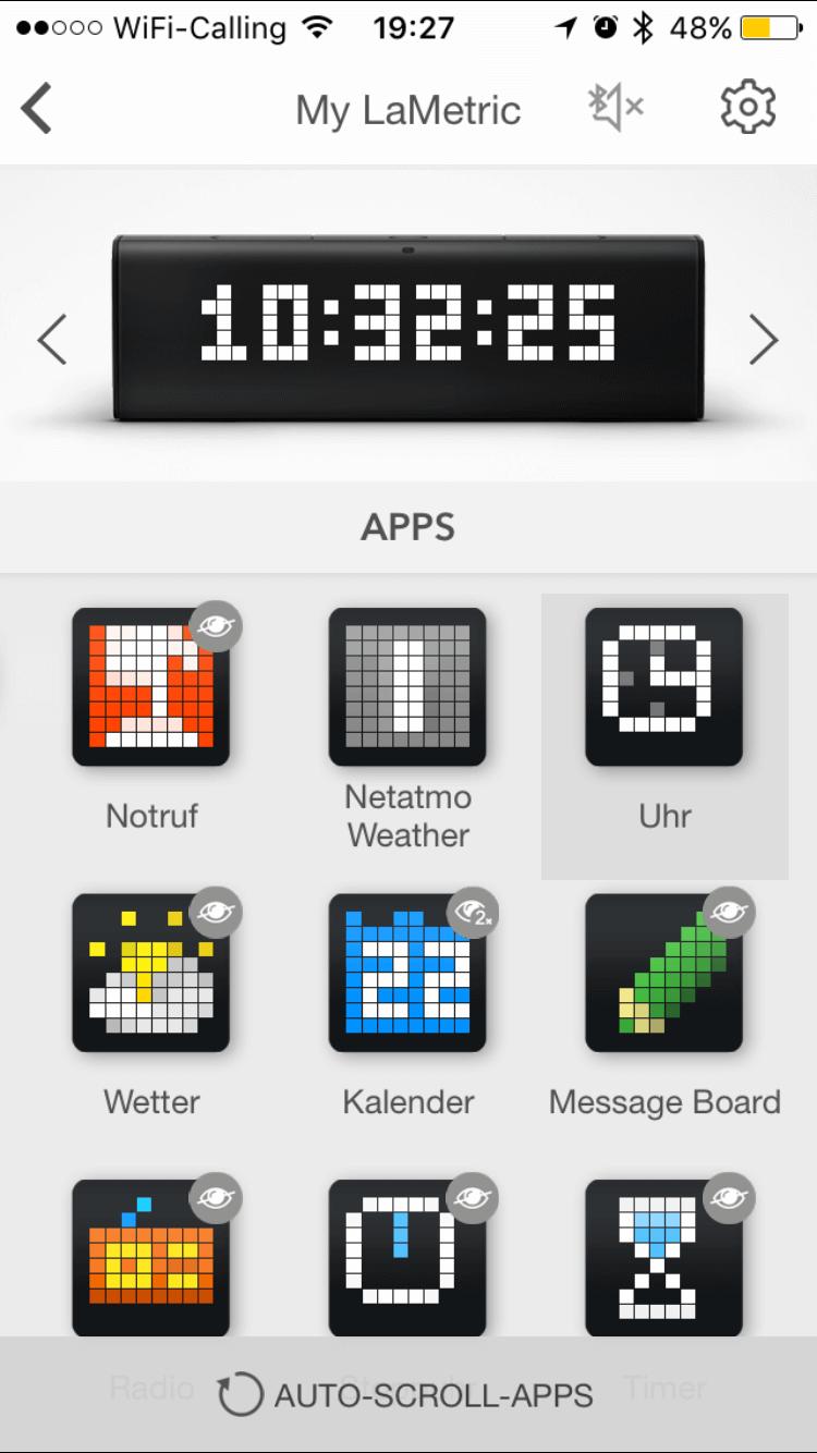 La Metric Time App