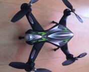 Jamara Drohne Rückseite