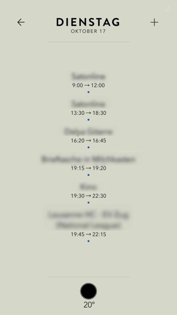 Timepage - Der intelligente Kalender • Gwerdi\'s Best Tools Ever