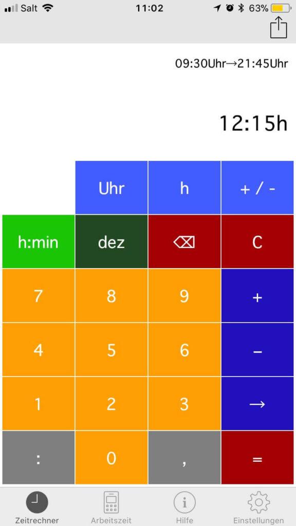 Zeitrechner
