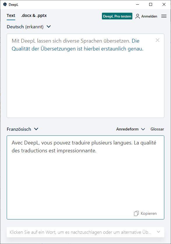 DeepL Desktop